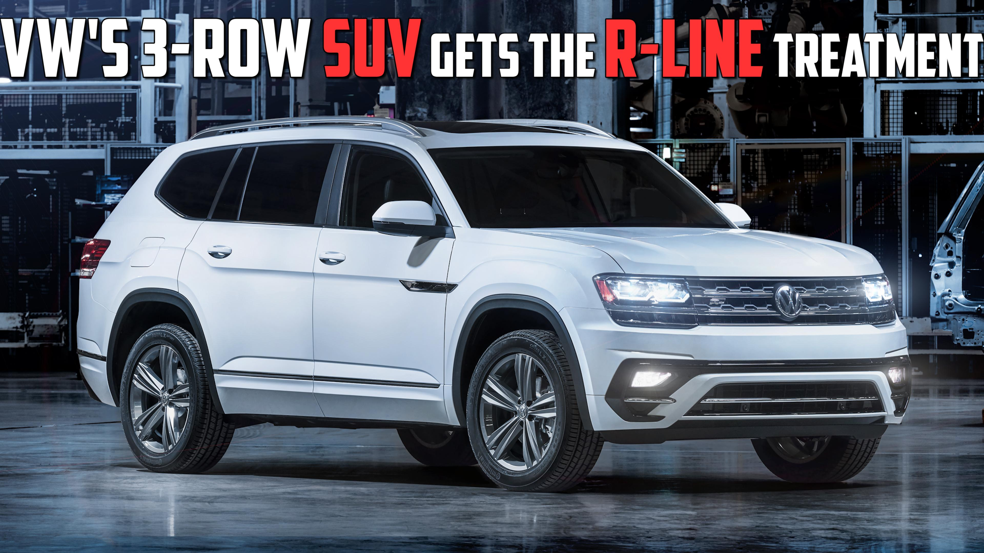 VW Atlas Towing Capacity >> Credible But Not Incredible 2018 Volkswagen Atlas First