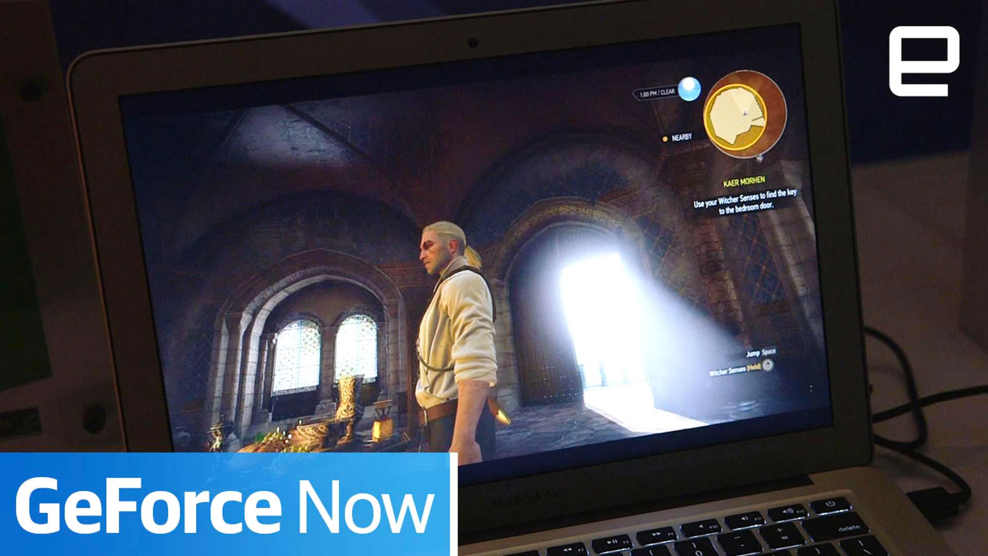 NVIDIA's GeForce Now let me play 'The Witcher 3' on a