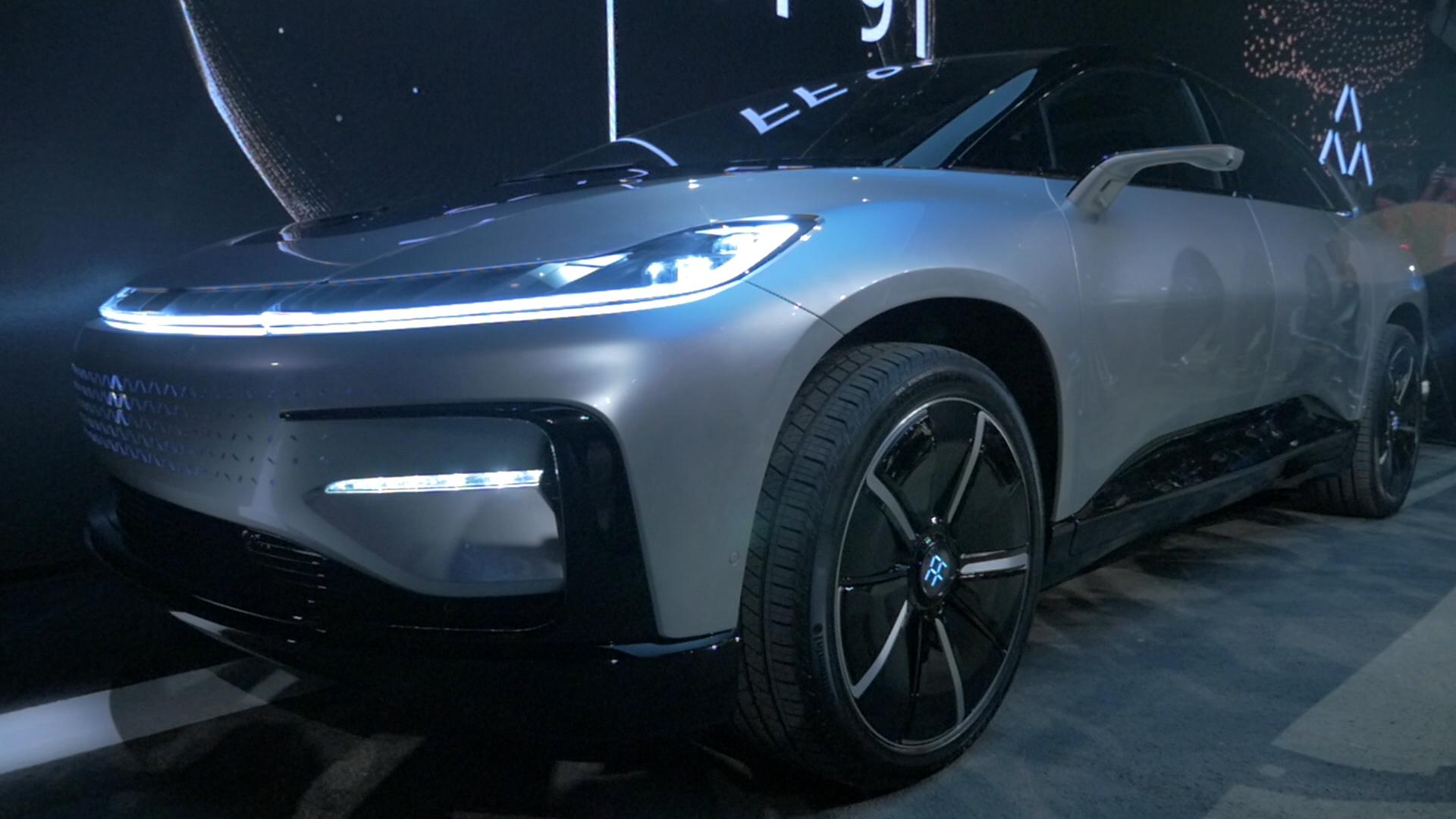 NIO debuts EVE principle at SXSW and Faraday Future cries foul