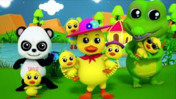 baby bao panda | five little ducks | nursery rhymes ...