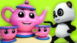 baby bao panda | i am little teapot | nursery rhymes...