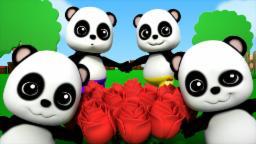 Baby Bao panda | ringa ringa roses | nursery rhymes ...