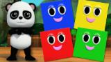 Baby Bao Panda | shapes song | learn shapes | nursery rhymes | 3d rhymes | baby songs