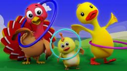 Hokey Pokey | nursery rhymes Farmees | children song...