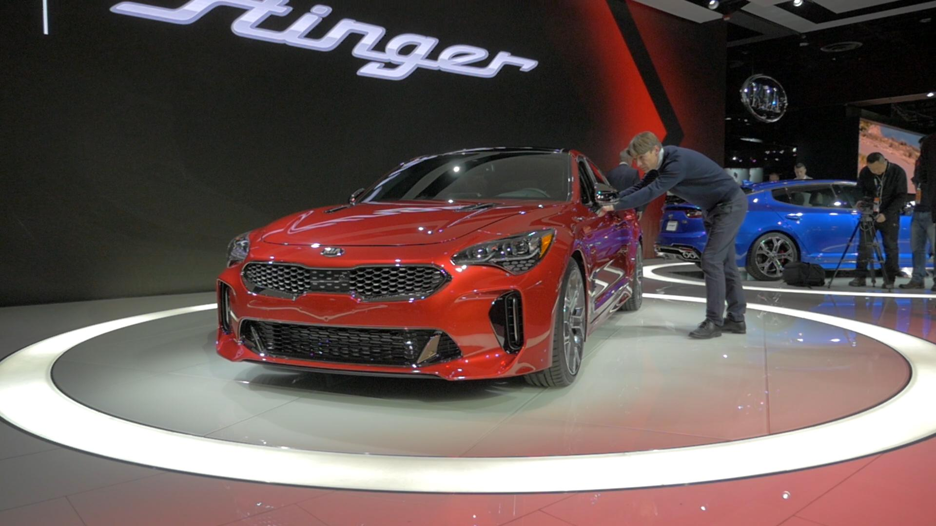 Kia Proceed Concept Is Like A Tiny Stinger Gt Autoblog