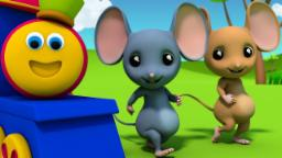 Bob The Train | Three Blind Mice | Nursery Rhymes | ...