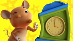 hickory dickory dock | farmees | nursery rhymes | ba...