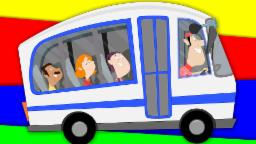 Wheels on the bus | Nursery rhymes | kids rhyme