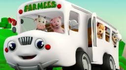 The Wheels On The Bus   Nursery Rhymes Compilation  ...