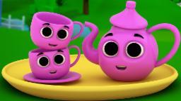 I'm a little teapot | Nursery rhymes | Baby songs | ...
