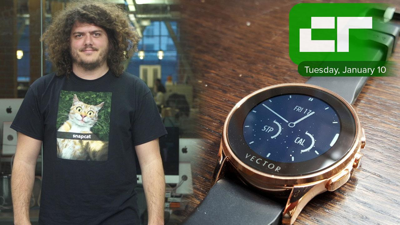 Fitbit Acquires Vector Smartwatch | Crunch Report