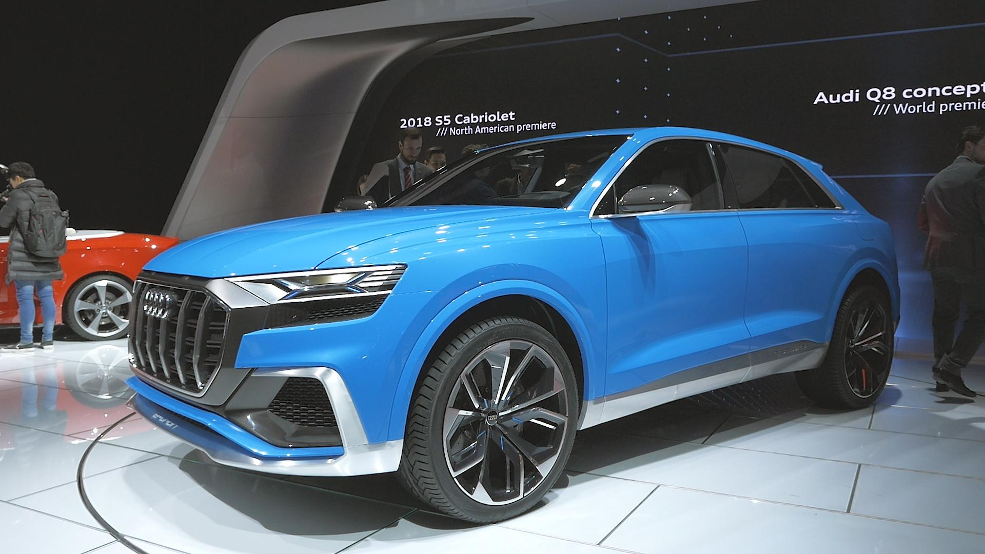 Audi's Q8 Sport concept packs an electric supercharger - Autoblog