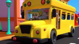Bao Panda | the wheels on the bus | nursery rhymes |...