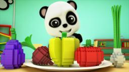 Bao Panda - Bao Panda | Learn vegetables | Vegetable...