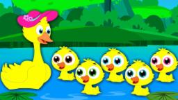 Five Little Ducks | Nursery Rhymes | Kids Songs | Ba...