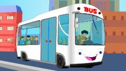 Wheels On The Bus | Nursery rhymes | Rhymes for chil...