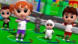 Luke & Lily - Hokey Pokey | Nursery Rhymes | Song Fo...