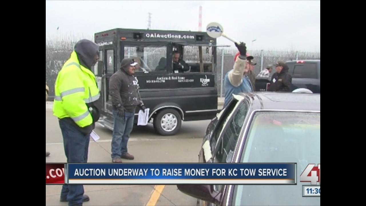 Auction underway to raise money for KC tow service - KSHB.com 41 ...