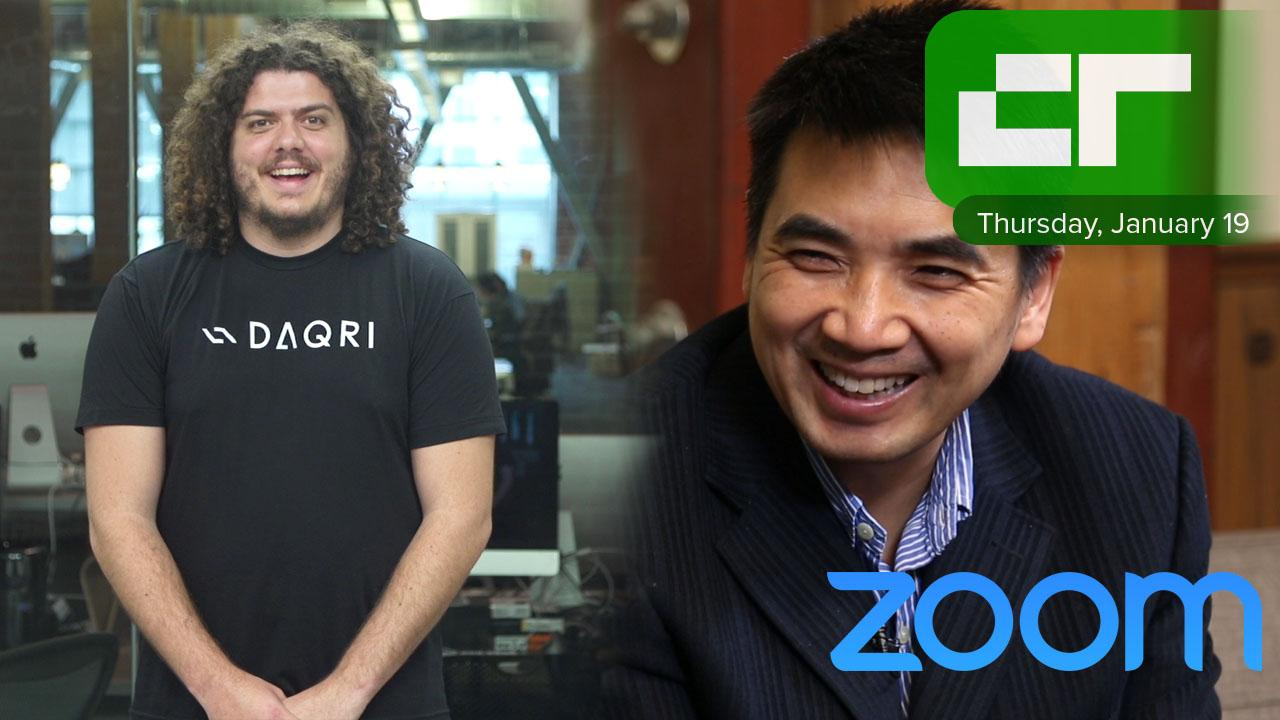 Zoom CEO Eric Yuan Raised $100 Millon | Crunch Report