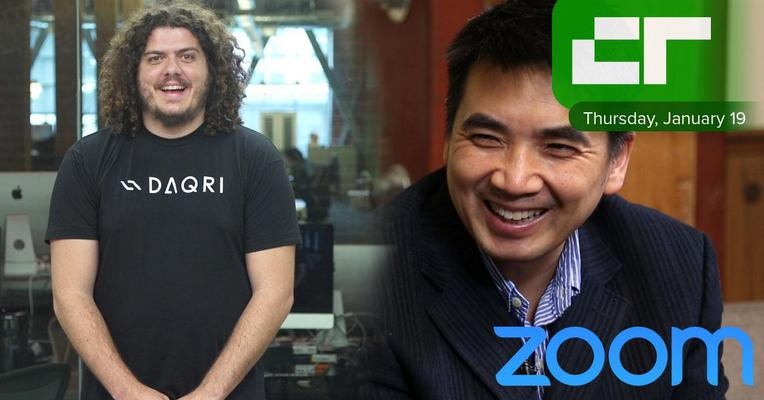 Crunch Report | Zoom CEO Eric Yuan Raised $100 Millon
