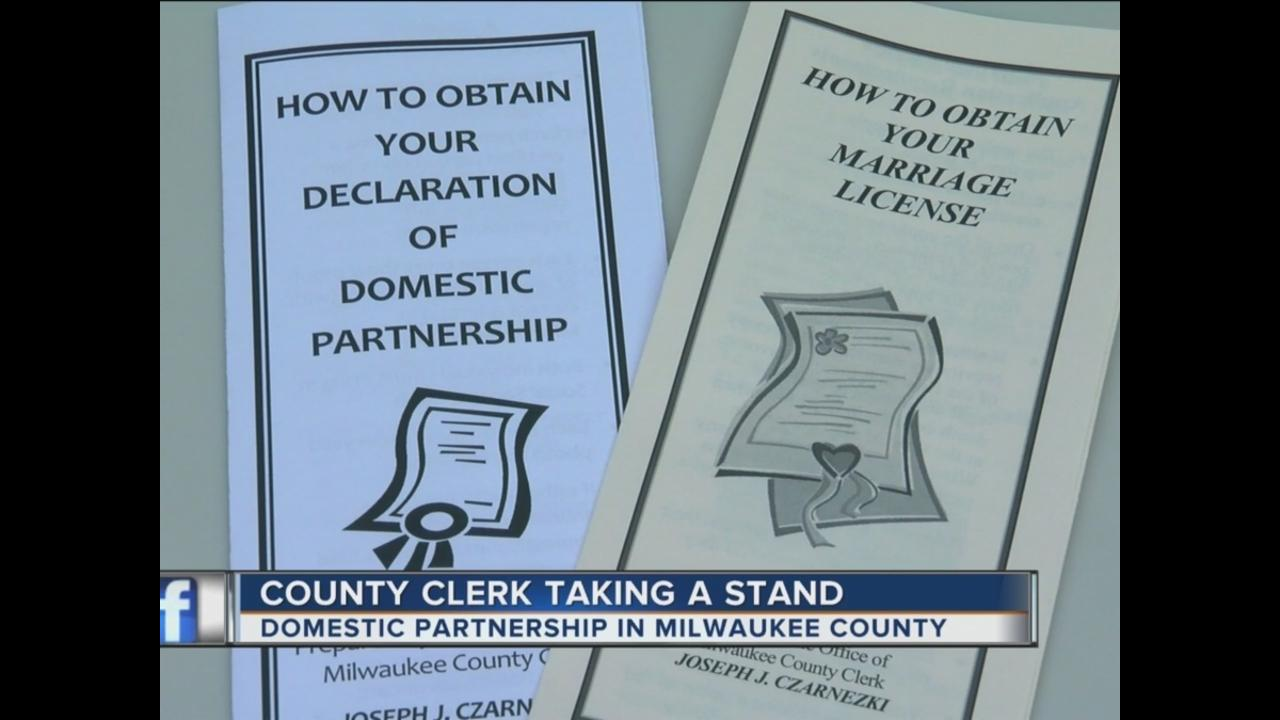 Milwaukee co to begin issuing domestic partnership declarations milwaukee co to begin issuing domestic partnership declarations to opposite sex couples tmj4 milwaukee wi aiddatafo Image collections