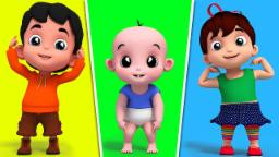 Head Sholder Knees And Toes | Nursery Rhymes | Kids ...