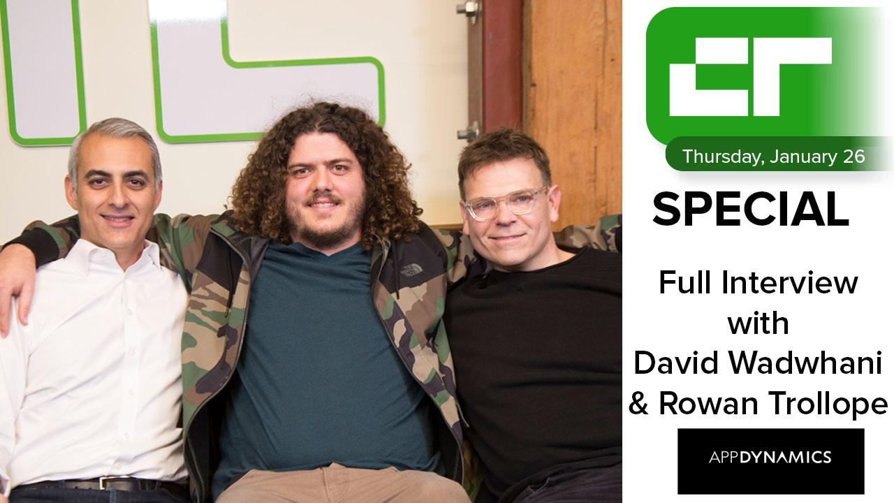 Crunch Report Special | AppDynamics Full Interview
