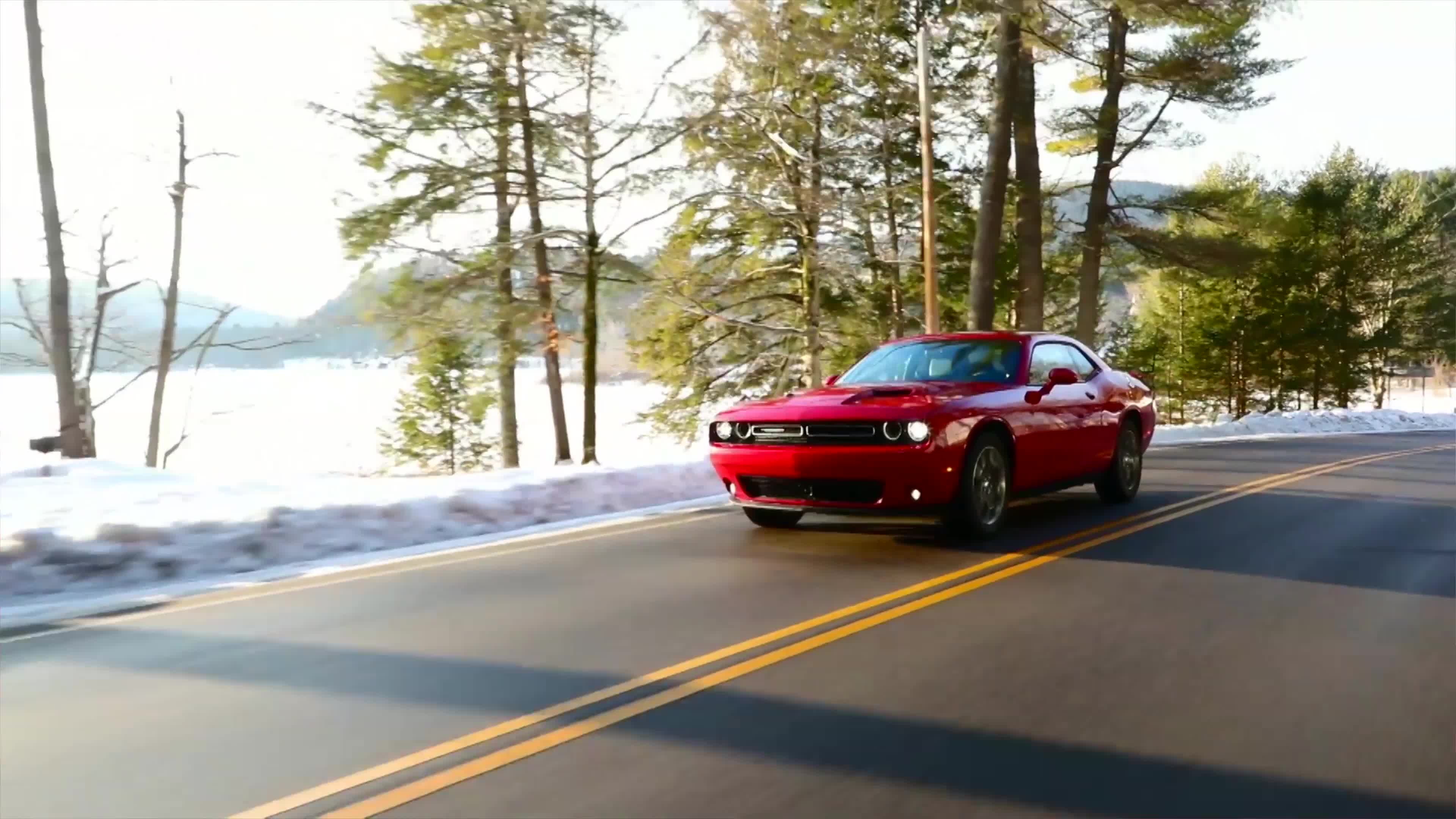 Playing In The Snow | 2017 Dodge Challenger GT First Drive