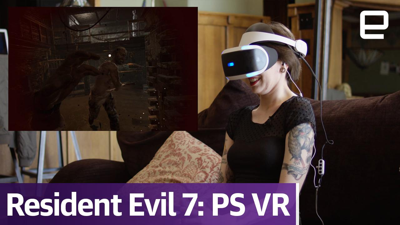 Resident Evil 7 Is The Most Terrifying Vr Game On The Market