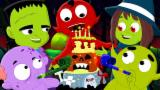 Ten In The Bed | Hello It's Halloween | Many More Scary Nursery Rhymes For Kids And Children