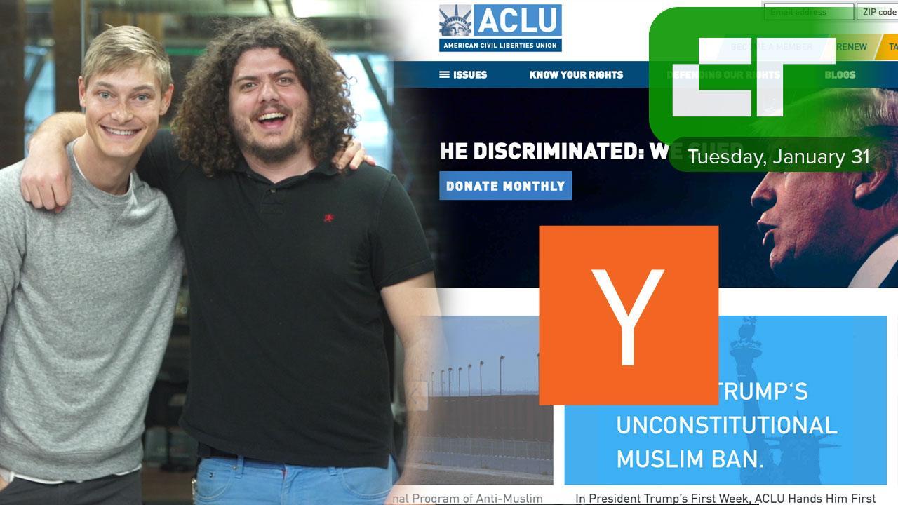 ACLU Enrolls in Y Combinator | Crunch Report