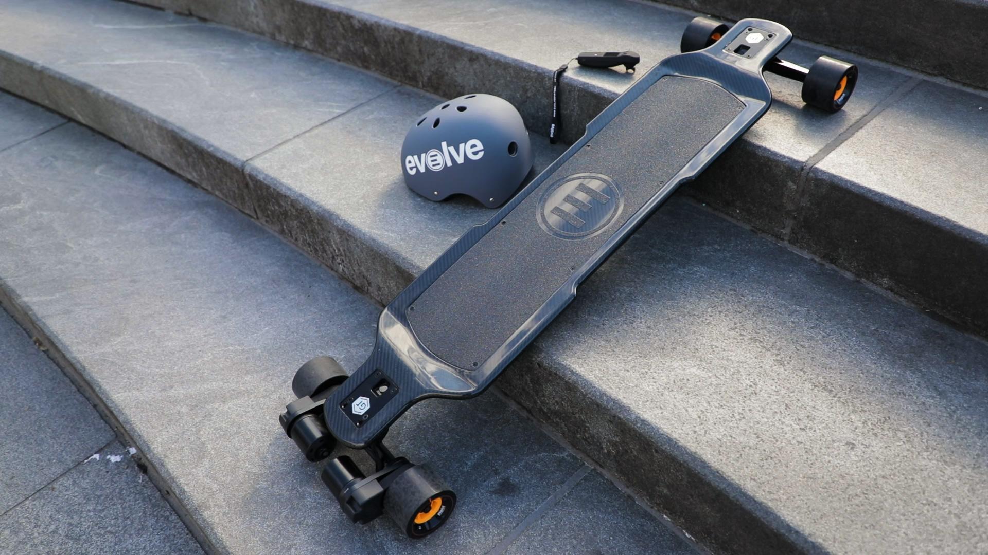 Evolve's electric skateboard