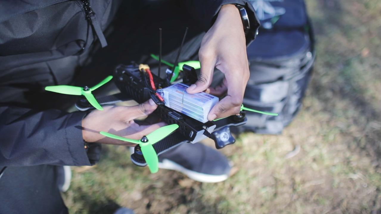 Flying the TBS Vendetta racing drone