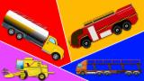 monster trucks | stunts games for children | street vehicles