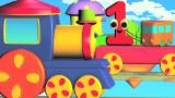 Bob el tren | dedo familia | Rima de bebé | Bob The Train | Finger Family | Song For Children