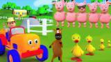 Família dedo porcos | Rima para crianças | Pigs Finger Family | Finger Family Song | Kids Rhymes