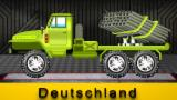 Dump Truck | Autowäsche | Kinderfahrzeug | Car Wash Videos | Learn Vehicles | Cartoon Cars For Kids