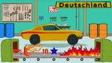Polizeiwagen - Autowäsche | Ausbildungsvideo | Educational Video For Kids | Police Car - Car Wash