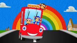 Wheels On the Bus | Nursery Rhymes