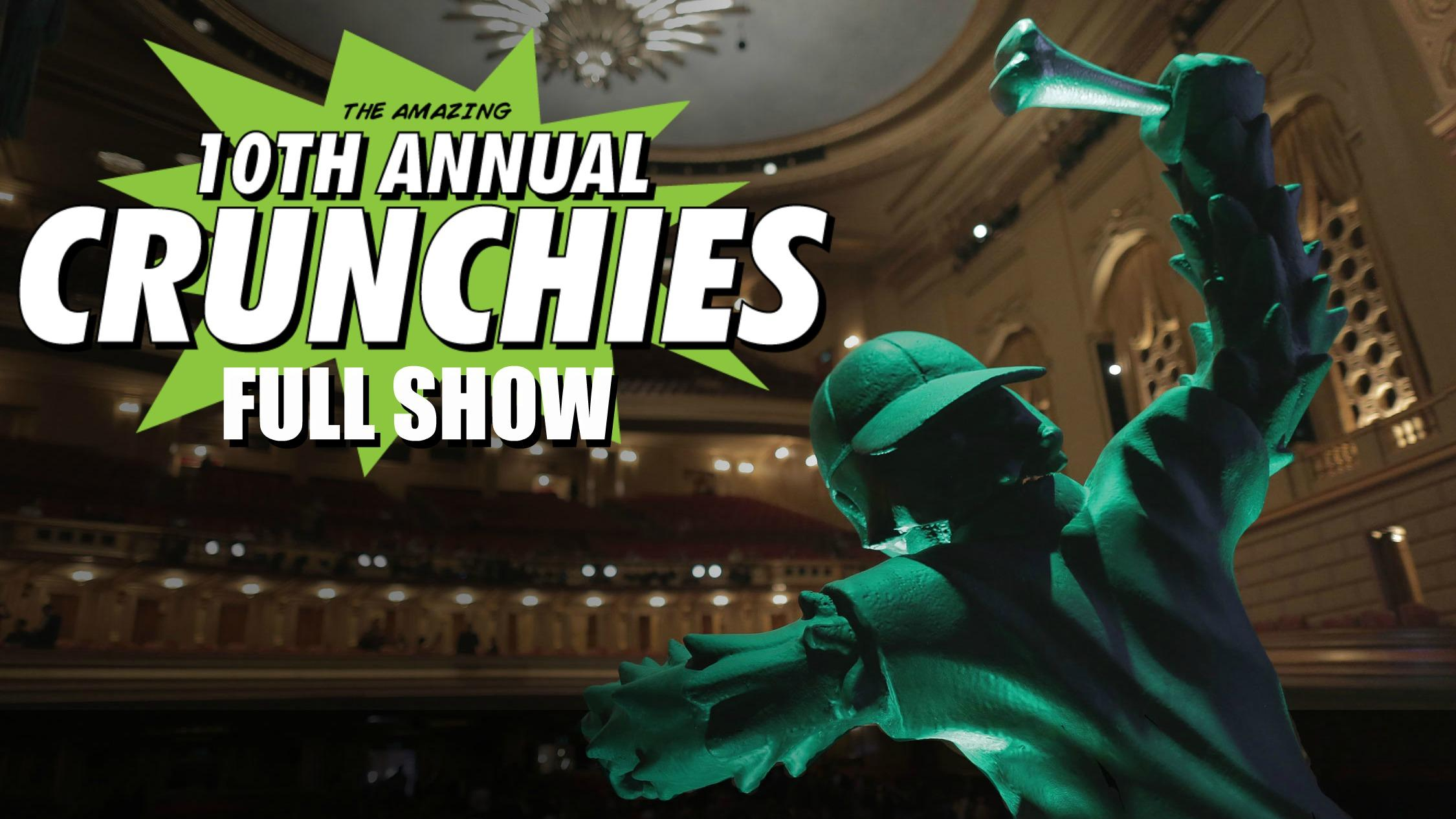 The 10th Annual Crunchies Awards | Full Show
