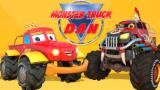 If You're Happy And You Know It | Happy Song With Monster Truck Dan
