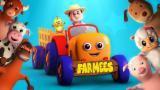 Five Little Farmees | Nursery Rhymes Farmees | Kids Songs | Baby Rhymes | Children Video