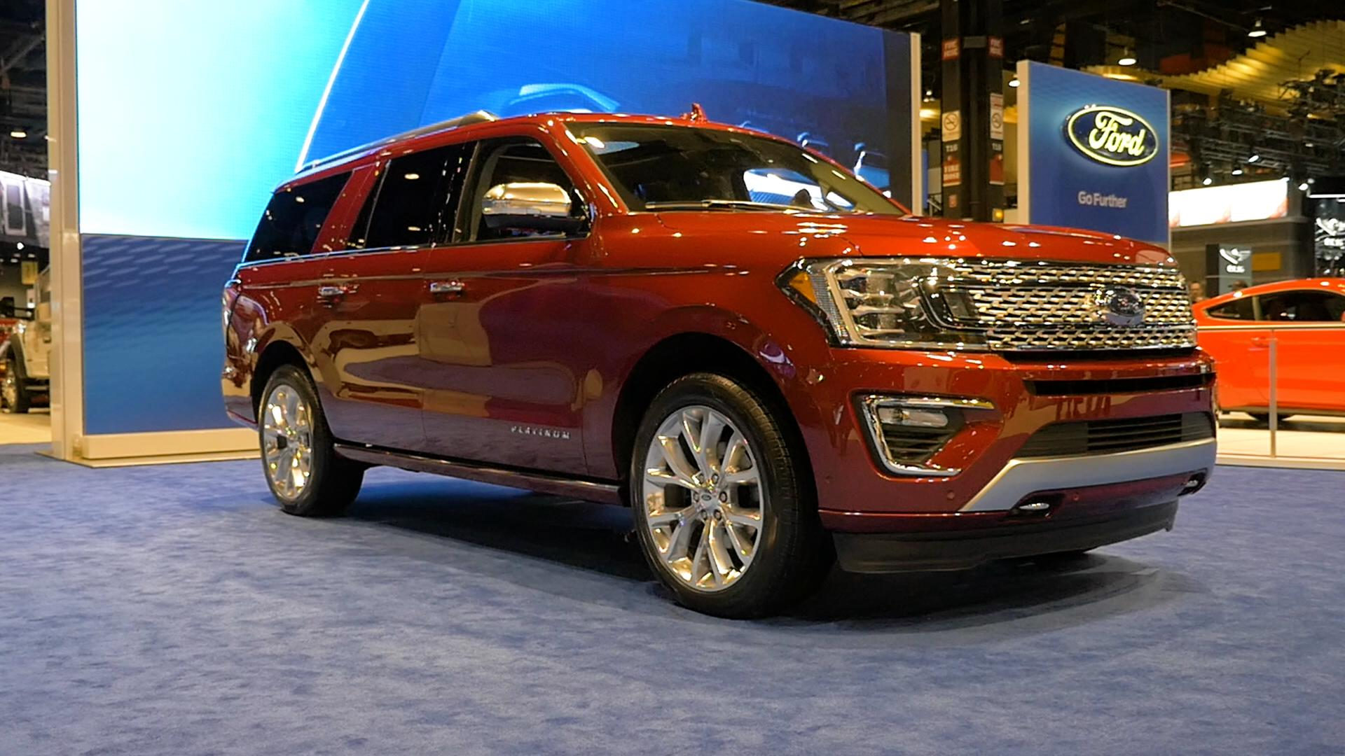 2018 ford expedition backseat is the place to be autoblog. Black Bedroom Furniture Sets. Home Design Ideas