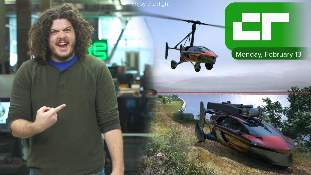 Flying Car for $400,000 | Crunch Report