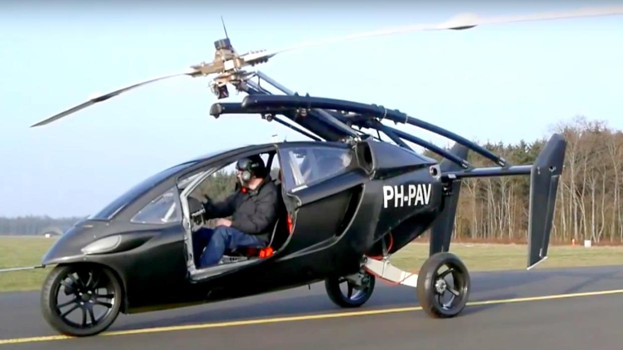 PAL-V begins pre-sales of its flying car