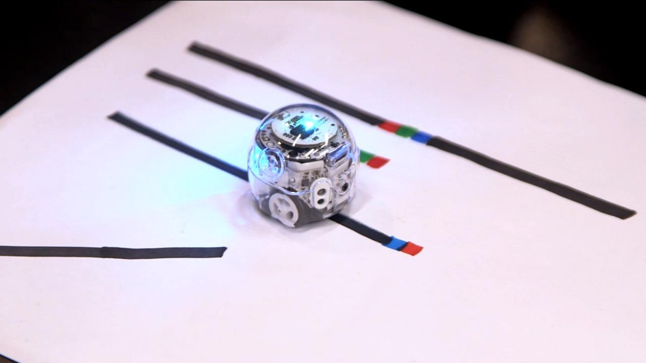 Ozobot teaches kids coding basics