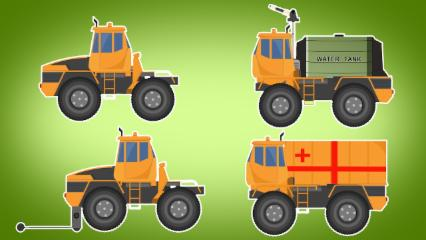 Transformer | Coal Mine Truck | Vehicle For Kids | Cartoons Videos