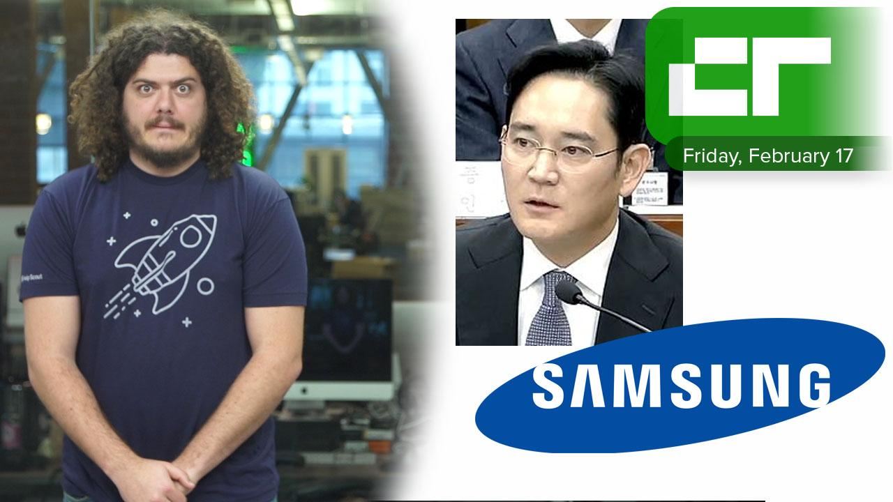 Samsung Vice Chairman Arrested | Crunch Report