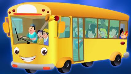 Ruedas en el autobús | Canciones para niños | Nursery Rhymes | Kids Song | Wheels On The Bus