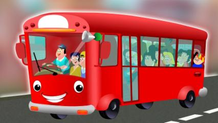 Ruedas en el autobús | Rima Para Niños | Poema Para Niños | Nursery Rhymes Songs | Wheels On The Bus